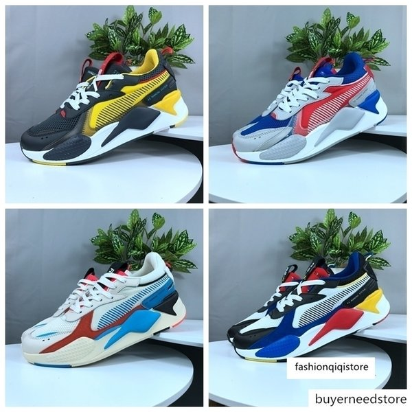 top popular High Quality RS-X Reinvention Toys Mens Running Shoes Brand Designer Men Hasbro Transformers Casual Womens rs x Sneakers Size 36-45 2021