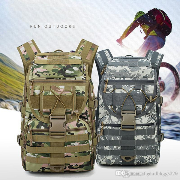 best selling casual riding small backpack waterproof outdoor tactical multi-purpose travel bag 6 colors suitable for mountaineering exercise fitness bags