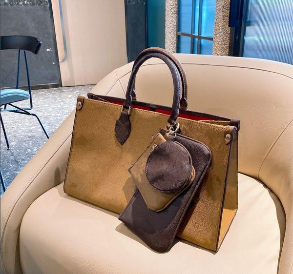 2020 Best selling handbag shoulder bags handbag fashion bag handbag wallet phone bags Three-piece combination bags free shopping
