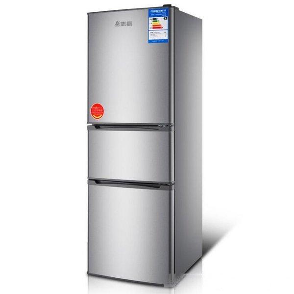 best selling BCD-180 liter three-door household large capacity refrigerator rental freezer refrigerator energy saving Refrigeration method hybrid refrige