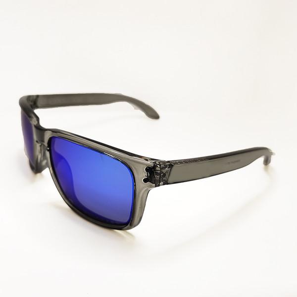 TP gery frame blue lens