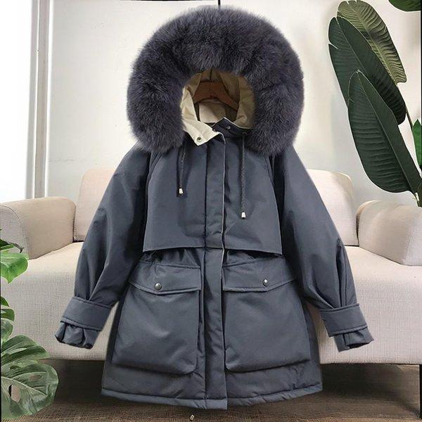 Gray Real Fur