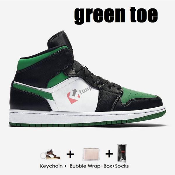 اصبع القدم الخضراء