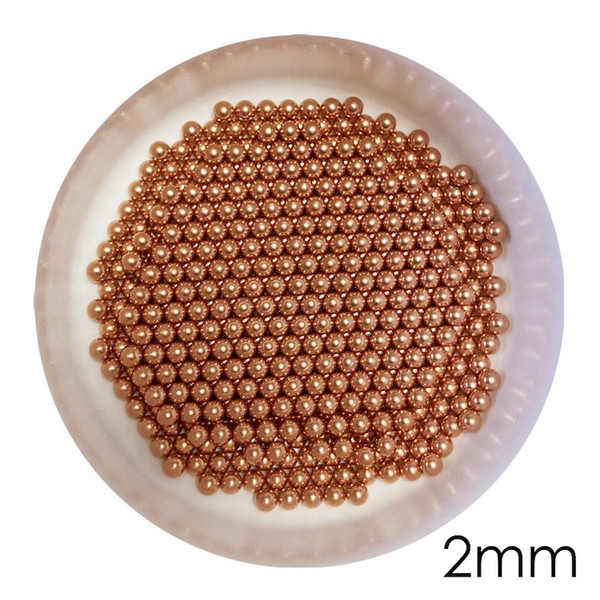 top popular 2mm Solid Copper Bearing Balls (Min 99.9% Cu) For Galvanic Applications And Electronic Industry 2021