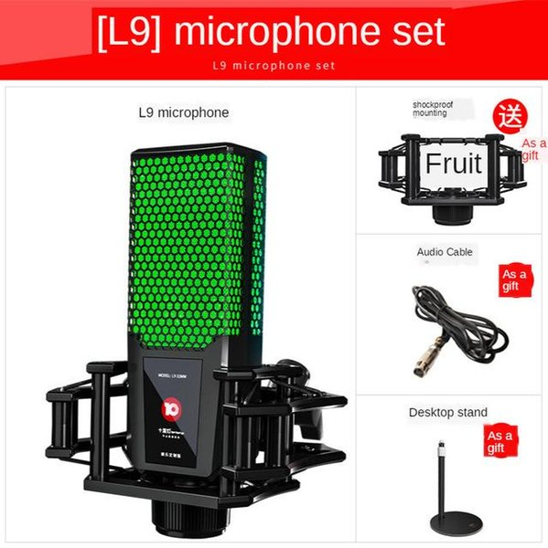 China L9 Microphone Green