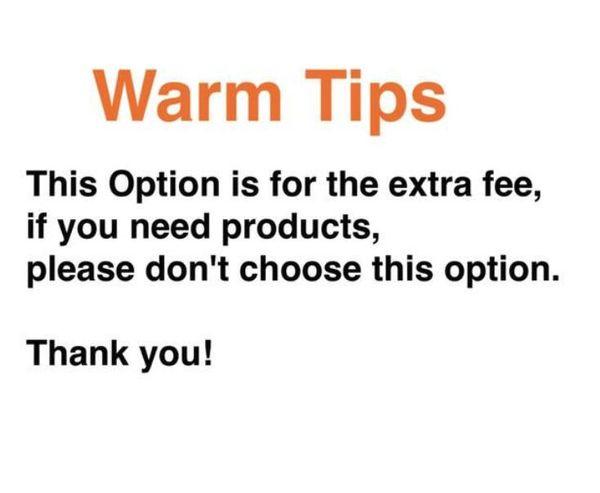 opção para livre adicional