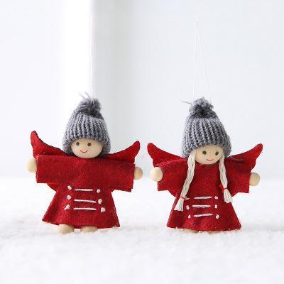 2 pcs-red angel