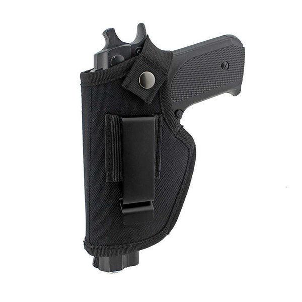 best selling Tactical New Nylon Gun Holster Hidden Belt Holster IWB OWB Pistol Bag with Magazine Slot
