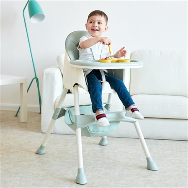 top popular Baby Highchairs cosas para bebe portable baby chair silla para comer bebe baby feeding chair chaise haute bebe wholesale cheap LJ201110 2021