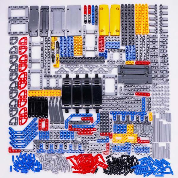best selling Technic Parts Bricks Pin Liftarm Studless Beam Axle Connector Panel gear Car Toys Mindstorm compatible Building Blocks Bulk sets 1008