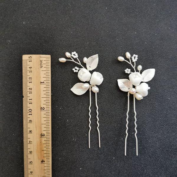Silbernes Haar Pin