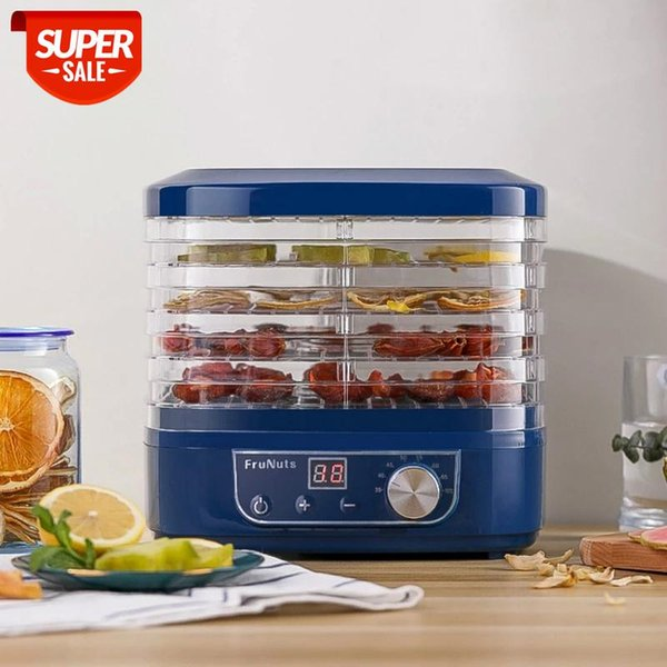 best selling Dried Fruit Vegetables Herb Meat Machine Household MINI Food Dehydrator Pet Meat Dehydrated 5 trays Snacks Air Dryer EU #AC3l