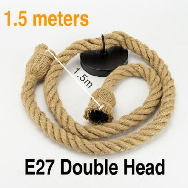 1,5M double tête