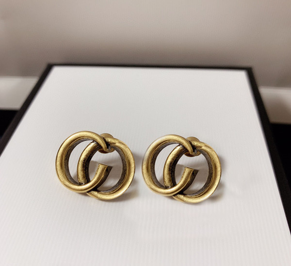 best selling Fashion hoop earrings aretes orecchini for women party wedding lovers gift jewelry engagement with box HB1217