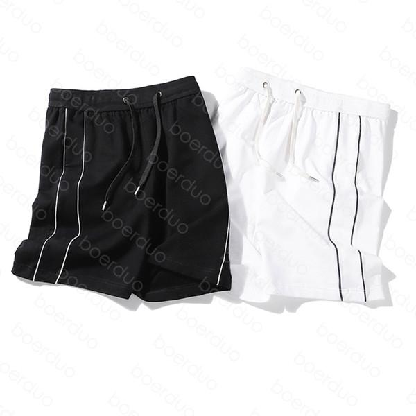 best selling 20SS Mens Stylist Shorts High Street Drawstring Pant Elastic Waist Outdoor Fitness Sport Short Pants Casual Breathable Shorts 0QKK