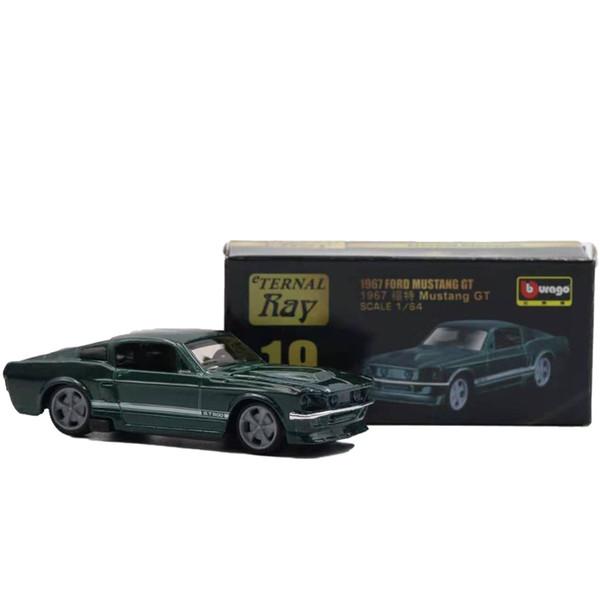 Mustang Gt Verde