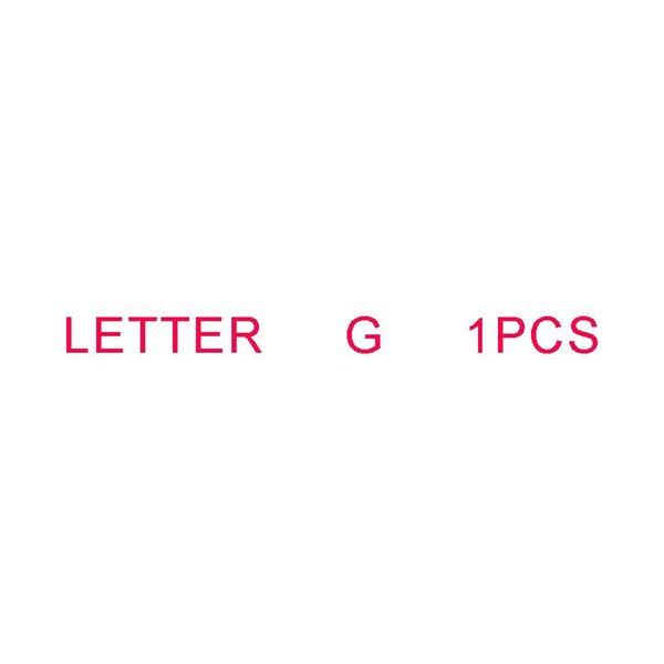 Letra G 1PCS