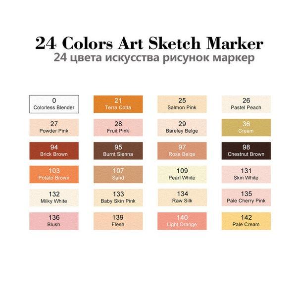 24 set di colori