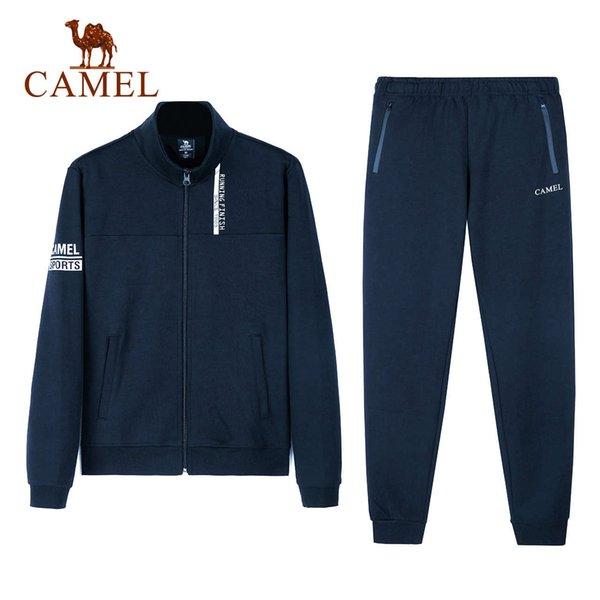 J8S277101, Azul de la noche, hombres # 039; S (Top + Pantalones)