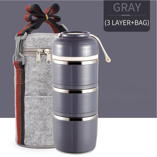 3 Capa gris bolsa
