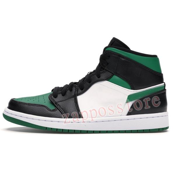 32. зеленый носок