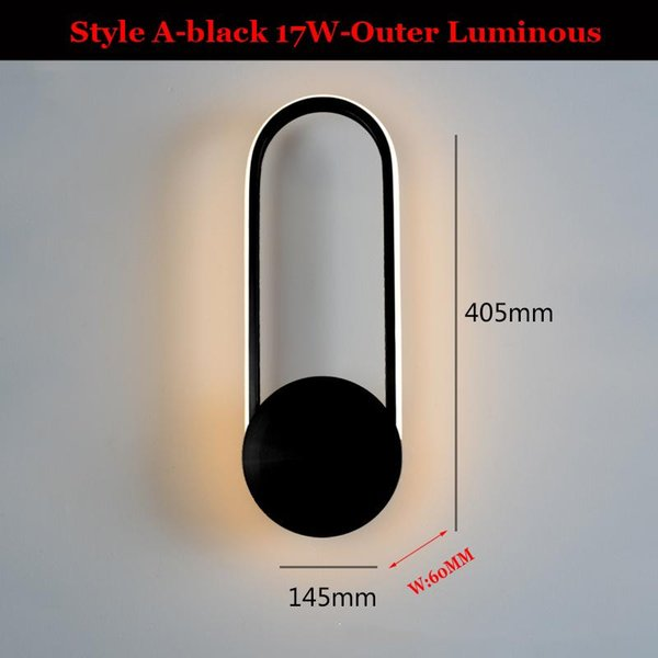 Estilo A-Black China luz quente