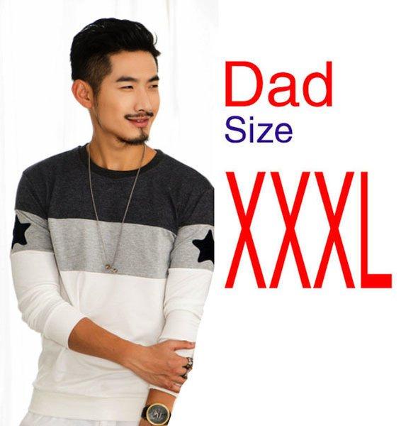 Размер папы XXXL.
