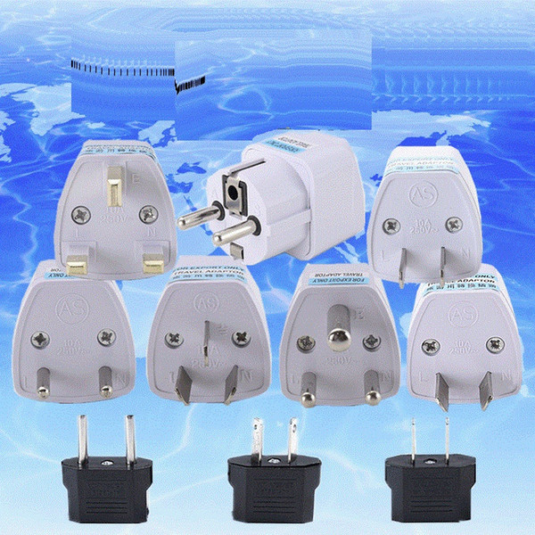 best selling Universal Travel Adapter AU US EU to UK Adapter Converter 3 Pin AC Power Plug Adaptor Connector ready to ship