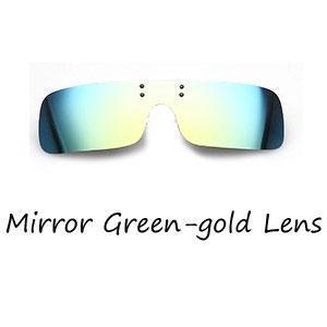Espejo del oro verde