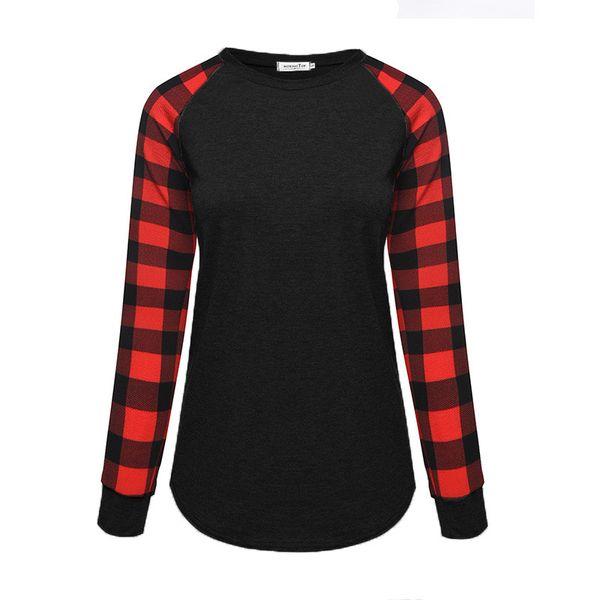 Черный + красный рукав