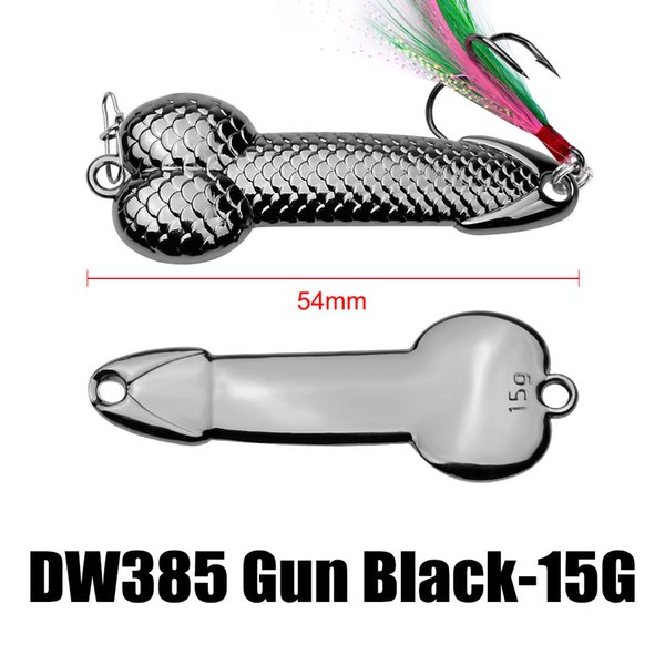 54mm 15g - Gun Black