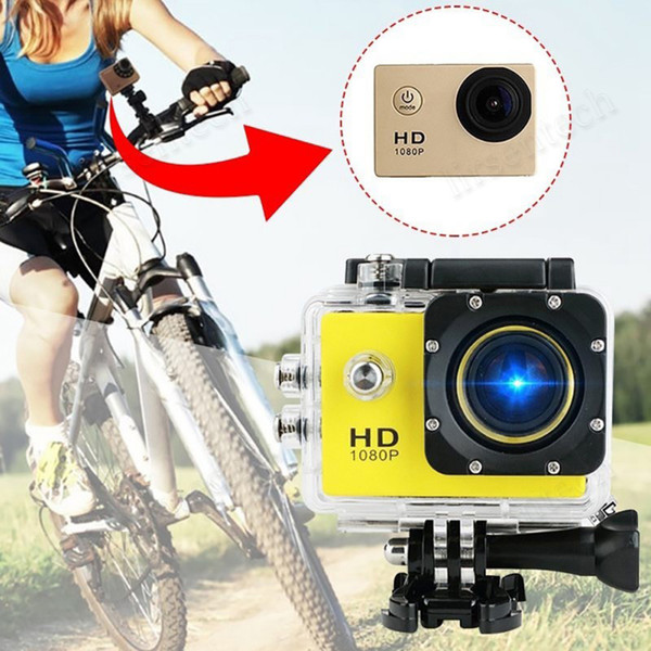 best selling Best Full HD Action SJ4000 1080P Digital Sport Camera 2 Inch Screen Under Waterproof 30M DV Recording Mini Sking Bicycle Photo Video Cam