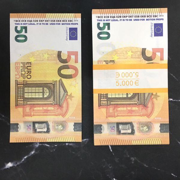 50 euos (100pcs)
