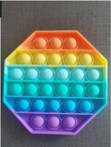 Octógono do arco-íris.