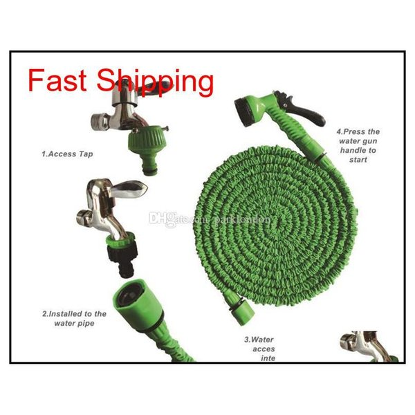 best selling Expandable Garden Hose Flexible Garden Water Hose 50ft For Car Hose Pipe Watering Irrigation With Spray Gun 15m Wi jllpAF sport777