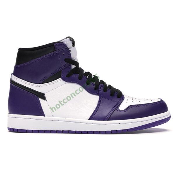 13 corte blanco púrpura