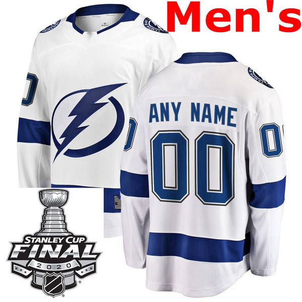 Mens White Away With 2020 Final Patch