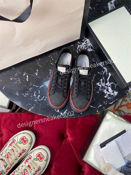 2021new Woman Best Quality Speed Trainer Black Walking Sneakers Men Women Black Red Casual Shoes Fashion Paris Sneakers jg201005