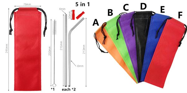 5in1 nylon bag