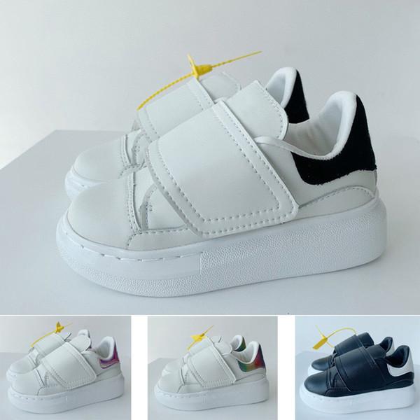 top popular 2021 Designer Low Casual Trainer Children Boy Girl Kids youth Skate Sneaker Fashion Sport running Shoes size26-35 2021