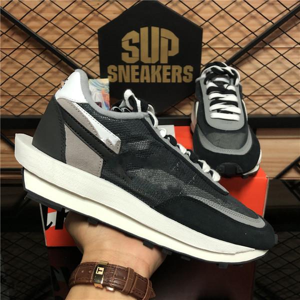 top popular Top Quality Varsity Blue Ldv Waffle Daybreak Mens Casual Shoes Summit White Black Nylon Wolf Grey platform Mens Womens Outdoor Sports Shoes 2021