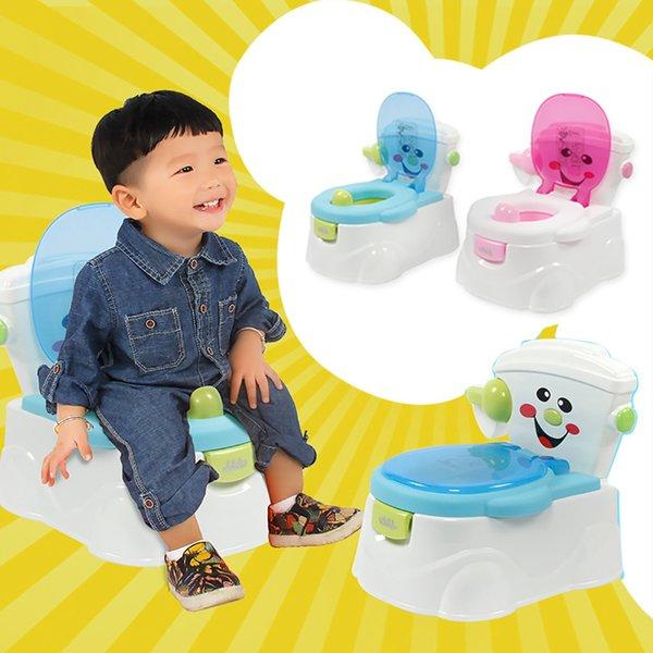 best selling Lovely Cute Potty Chair for Boys and Girls Toddler Potty Training Toilet orinal portatil portable toilet pisuar dla dzieci potty LJ201110