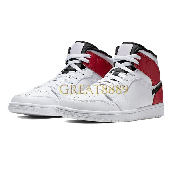 30.mid white gym red