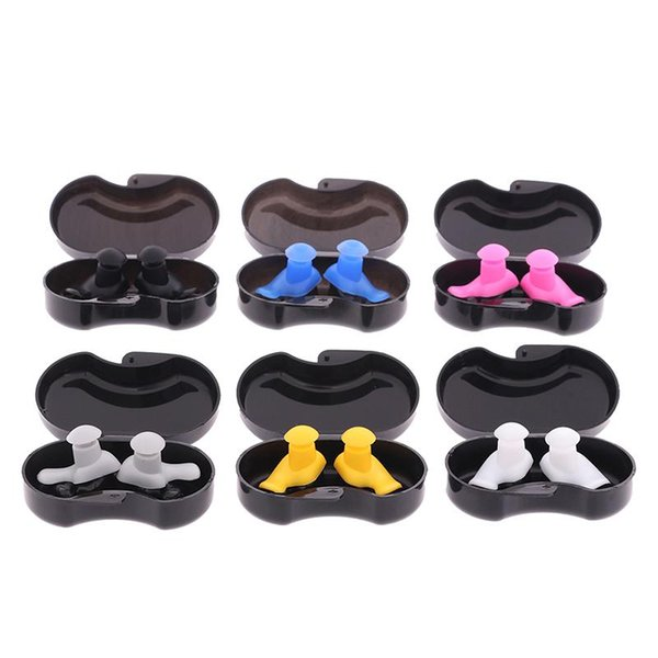 best selling 1 Pair Soft Silicone Ear Plugs Ear Protection Reusable Professional Music Earplugs Noise Reduction