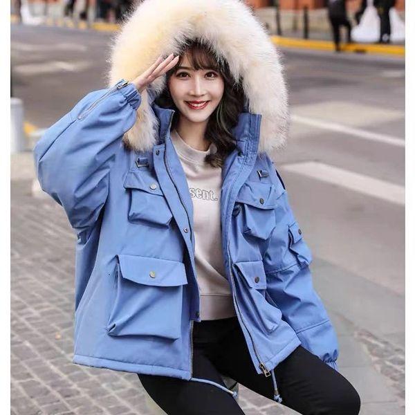 Fake Fur And Blue