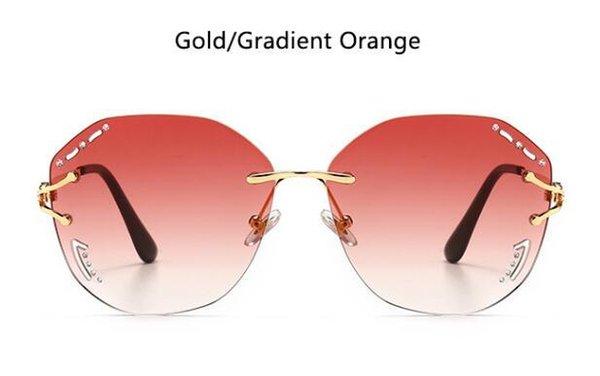 золотой градиент оранжевый