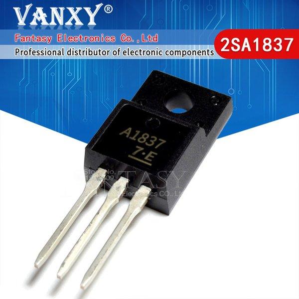 Circuits intégrés 10 5pair 5 2SC4793 TO220 5pcs 2SA1837 TO220 C4793 A1837 230V 1A chaque original et nouveau