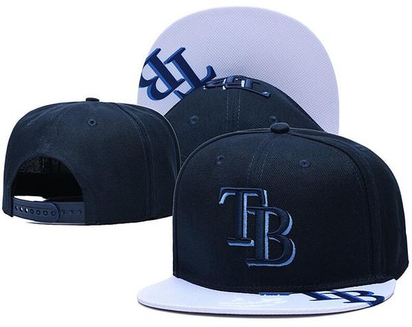 top popular New Caps 2020 Baseball Snapback Hats Cap Navy TB Blue Color Team Hats Mix Match Order All Caps in stock Wholesale 2021