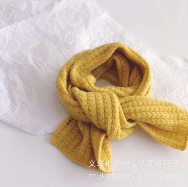Bufanda de maíz amarillo (niños)