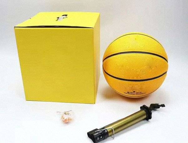 top popular With Box EUR Cup basketball 2021 size 54.5CM Spalding joint basketball global limited edition supply hococal top quality balls9dhD# 2021